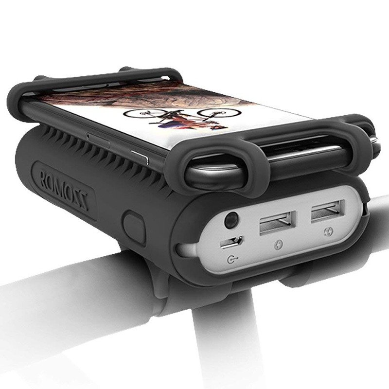 10000mAh 2-Port Power Bank,2 in 1 Portable Charger
