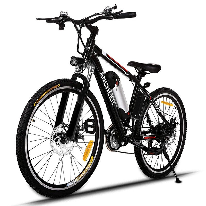 Best Electric Mountain Bike >> Ancheer Power Plus Electric Mountain Bike Best Motorized Bike