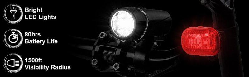 Bicycle Light Set Super Bright