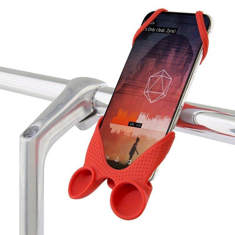 Bike Phone Mount Holder with Sound Amplifier