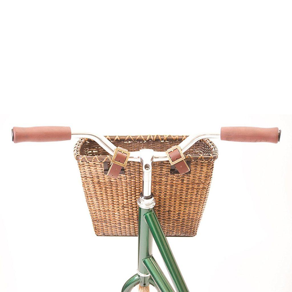 Bicycles Cane Woven Rectangular basket