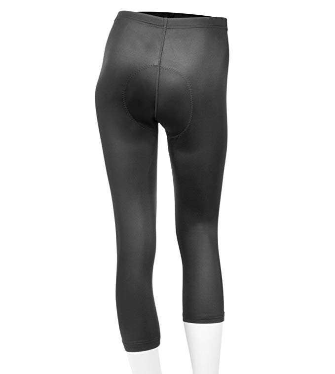 Women's Cycling Knickers Padded Spandex Capri