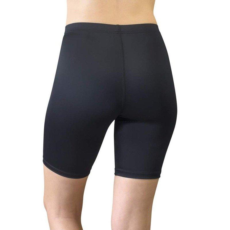 womens bike shorts black