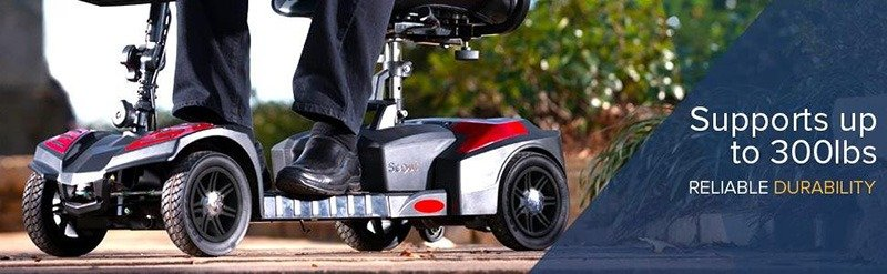 Drive Medical Scooter 4 Wheel Electric Scout