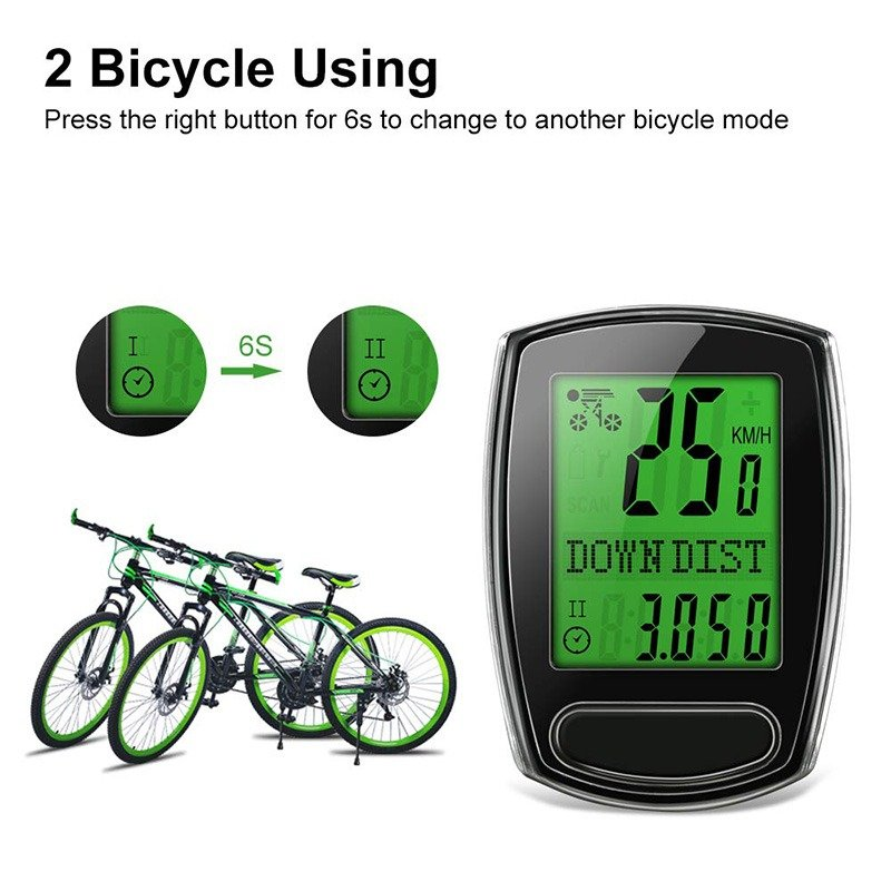 Waterproof Odometer Bike